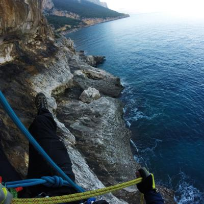 Sardinia Canyoning Bacu Padente Abseiling Cliffs
