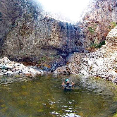 Canyoning In Sardinia Rappel Barbagia