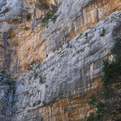 Via Ferrata Badde Pentumas Sardinia The Small Ledge